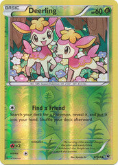 008/124 - Deerling - Common Reverse Holo