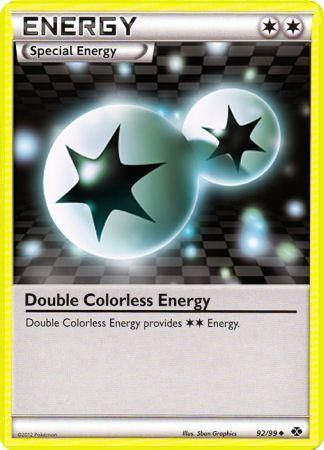 Double Colorless Energy - 92/99 - Uncommon