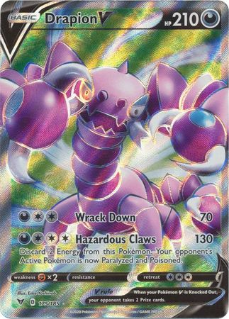 Drapion V Full Art - 175/185 - Ultra Rare