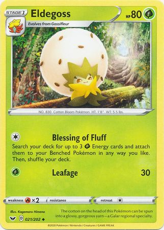 Eldegoss - 21/202 - Uncommon