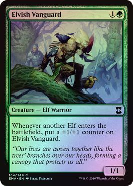 Elvish Vanguard - 164/249 - Common Foil