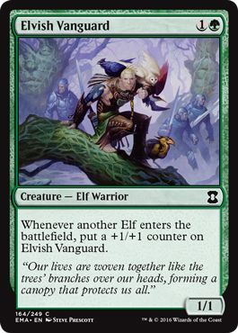 Elvish Vanguard - 164/249 - Common