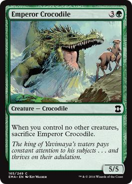 Emperor Crocodile - 165/249 - Common