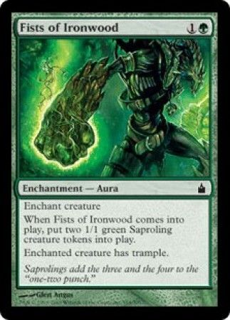Fists of Ironwood - 164/306 - Common