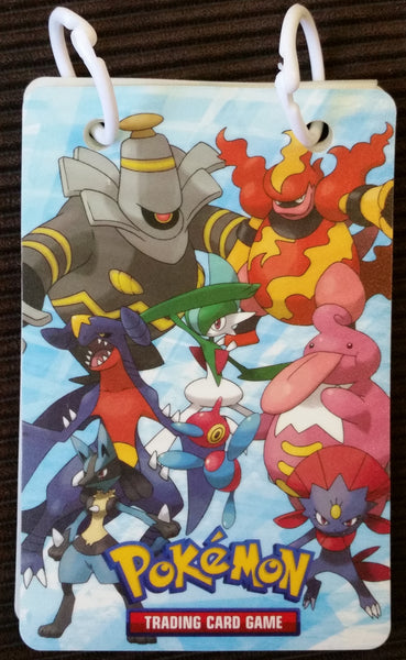 Flipbook Folder - Dusknoir Magmar Garchomp - New, Unused