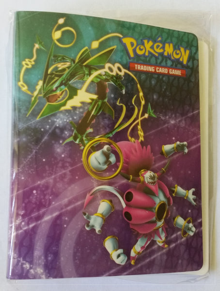 Mini Folder - Hoopa Rayquaza Pikachu - New, Sealed, Unused