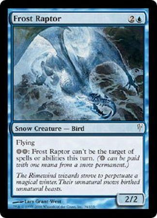 Frost Raptor - 34/155 - Common