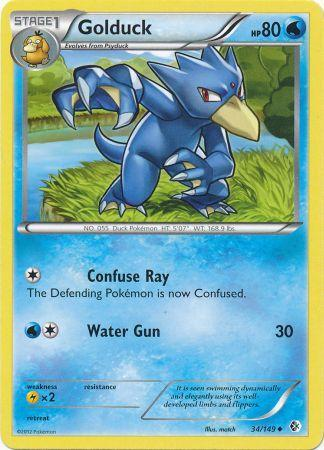 Golduck - 34/149 - Uncommon
