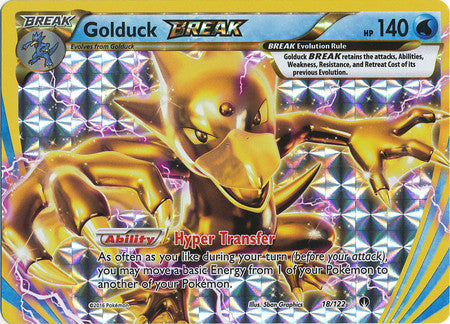Golduck Break - 18/122 - Ultra Rare