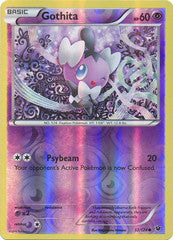 032/124 - Gothita - Common Reverse Holo