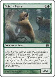 Grizzly Bears - 156/350 - Common