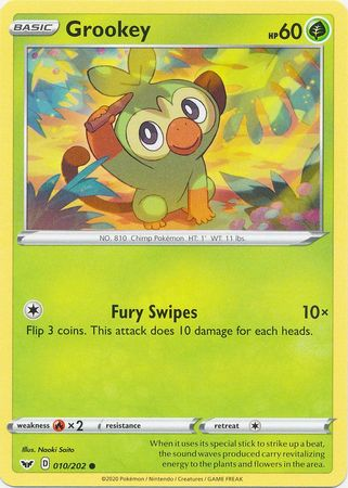 Grookey - 10/202 - Common
