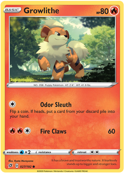 Growlithe - 27/192 - Common