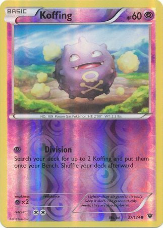Koffing - 27/124 - Common Reverse Holo