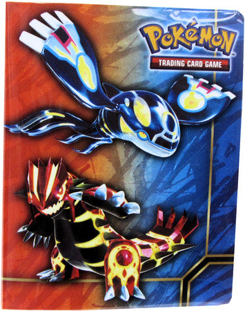 Pokemon Collector Tin Mini Album - Kyogre Groudon - Lightly Played