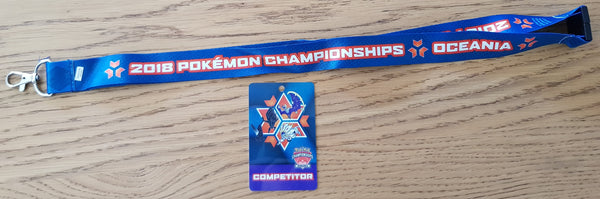 2018 Oceanic International Championships Lanyard
