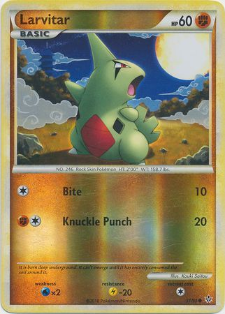 Larvitar - 51/95 - Common Reverse Holo