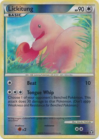 Lickitung - 66/102 - Common Reverse Holo