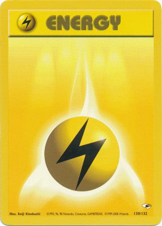 Lightning Energy - 130/132 - Common - Played