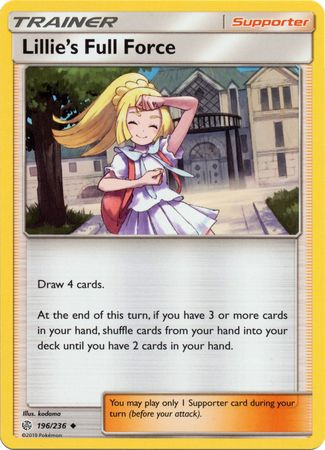 Lillie's Full Force - 196/236 - Uncommon