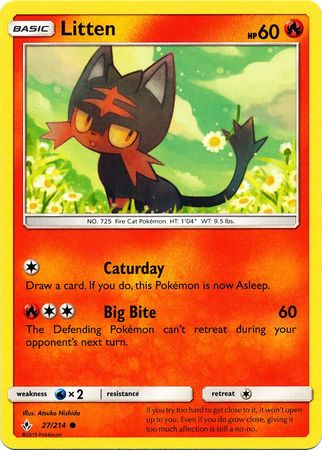 Litten - 27/214 - Common