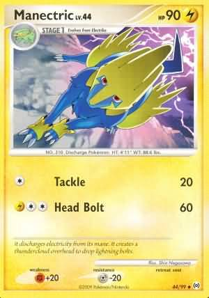 Manectric - 44/99 - Uncommon