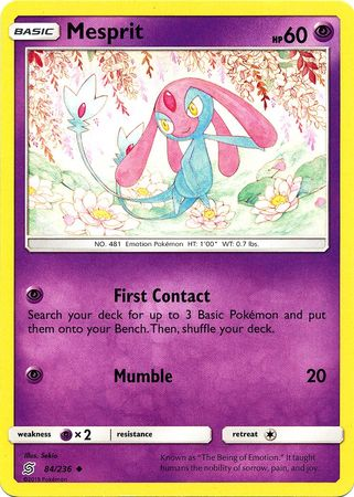 Mesprit - 84/236 - Uncommon