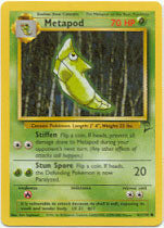 Metapod - 81/130  - Common