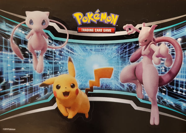 Sticker Sheet - Mew Mewtwo Pickahu - New, Unused