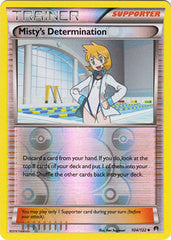 Misty's Determination - 104/122 - Uncommon Reverse Holo