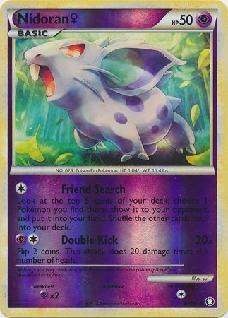Nidoran - 69/102 - Common Reverse Holo