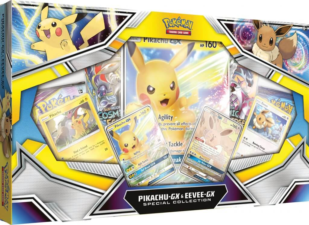 Pikachu & Eevee GX Special Collection Box