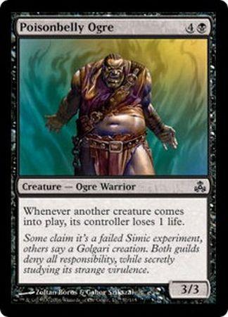Poisonbelly Ogre - 57/165 - Common