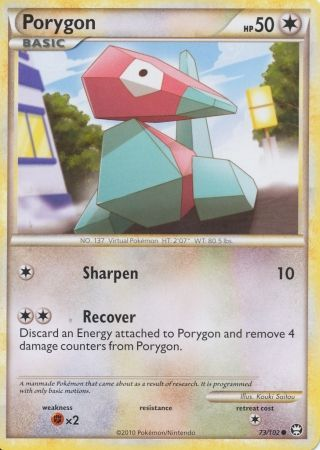 Porygon - 73/102 - Common