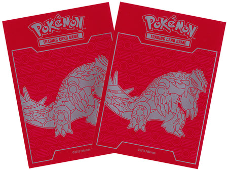 Primal Clash Groudon Sleeves (65 count) - Sealed, unopened