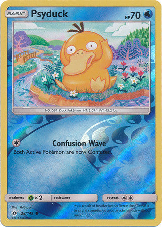 Psyduck - 28/149 - Common Reverse Holo