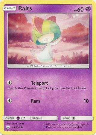 Ralts - 80/236 - Common