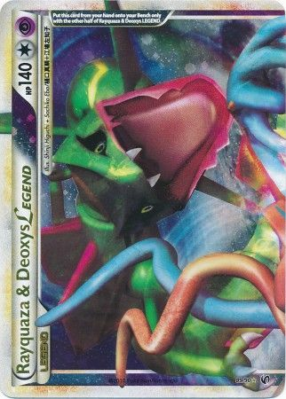 Rayquaza & Deozys Legend (Top) - 89/90 - Ultra Rare