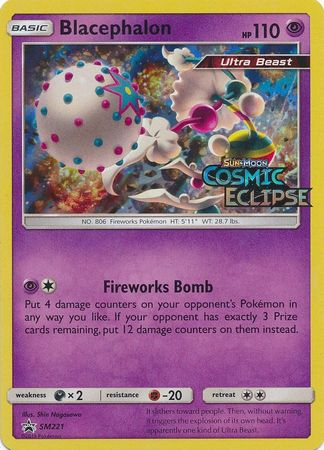 Blacephalon Pre Release Pack, Sealed - SM221 - Promo