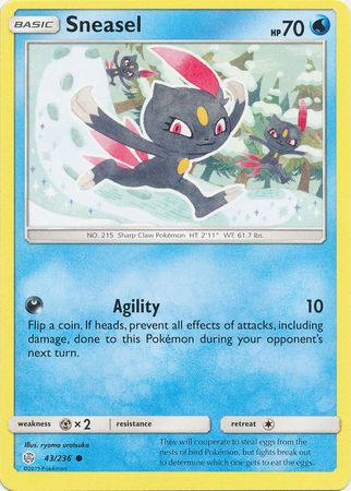 Sneasel - 43/236 - Common