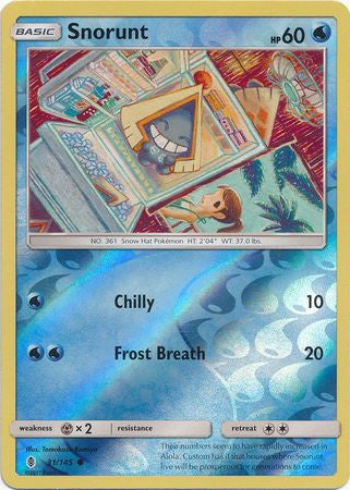 Snorunt - 31/145 - Common Reverse Holo