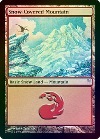 Snow-Covered Mountain - 154/155 - Common FOIL