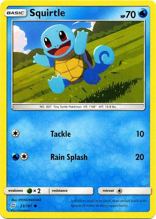Squirtle - 23/181 - Common