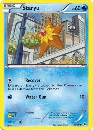 Staryu - 23/99 - Common