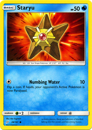 Staryu - 28/181 - Common