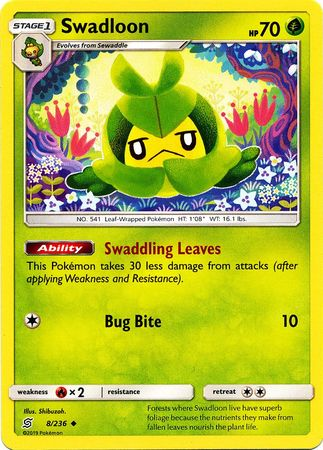 Swadloon - 8/236 - Uncommon