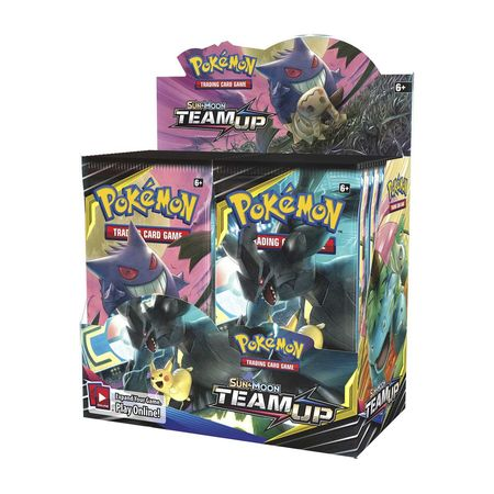 Team Up Booster Box - Sealed - 36 Boosters