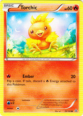 Torchic - 25/160 - Common