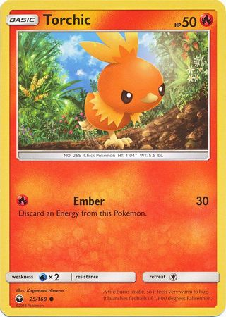 Torchic - 25/168 - Common