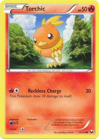 Torchic - 14/108 - Common